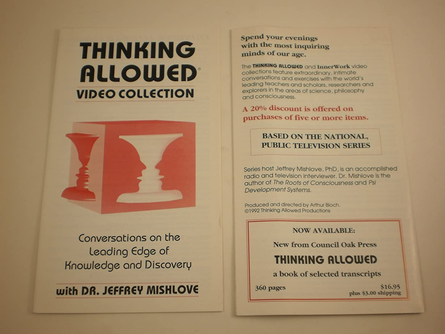 """Image result for Thinking Allowed - The Roots of Consciousness"""""""