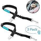 Dog Seat Belt Pet Dog Cat Car Seatbelt Safety - Adjustable Harness Safety Belts Pet Leash - Heavy Duty Nylon - Universal…