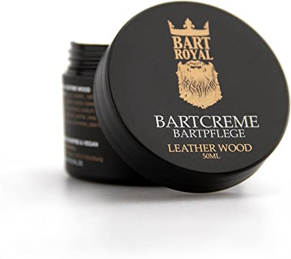 Barba Royal Barba Crema Leather Wood, 1er Pack (1 x 50 g): Amazon.es: Salud y cuidado personal