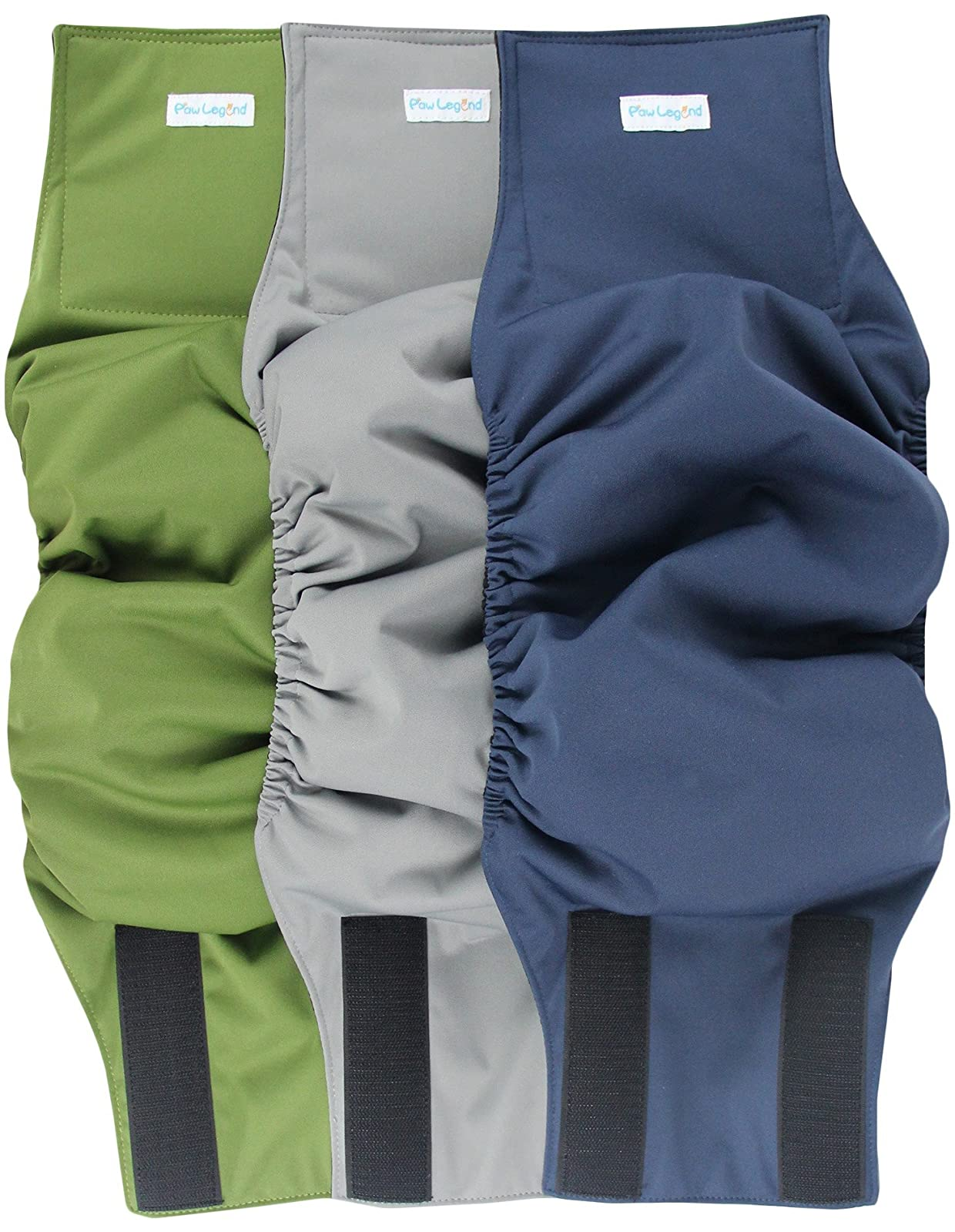 Paw Legend Washable Dog Belly Wrap DiapersMale - 9
