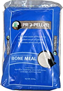 """Bone Meal 3-15-0 Plus 24% Calcium""""Greenway Biotech Brand"""" 50 Pounds"""