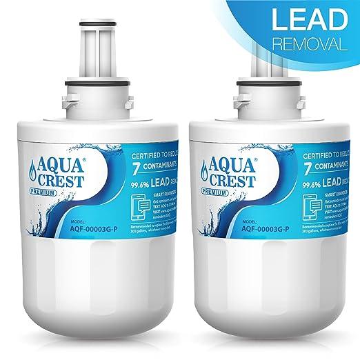 AQUACREST DA29-00003G NSF 53&42 Filtros de agua para frigorífico ...