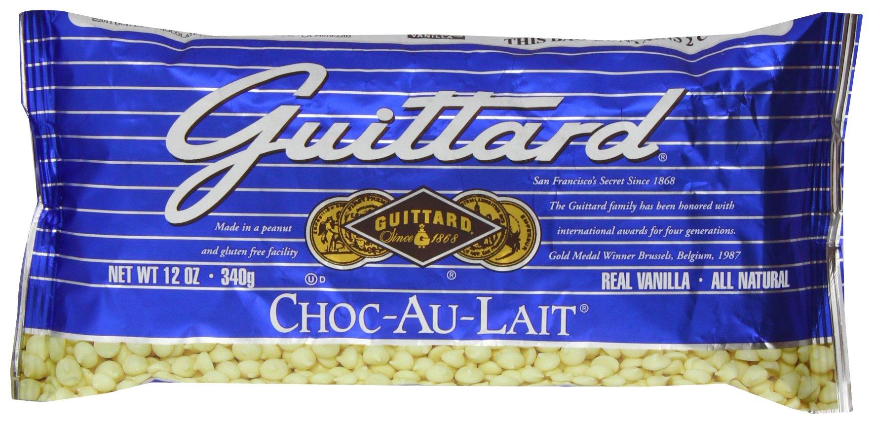 E Guittard Au Lait Chip, 12-Ounce (Pack of 4)