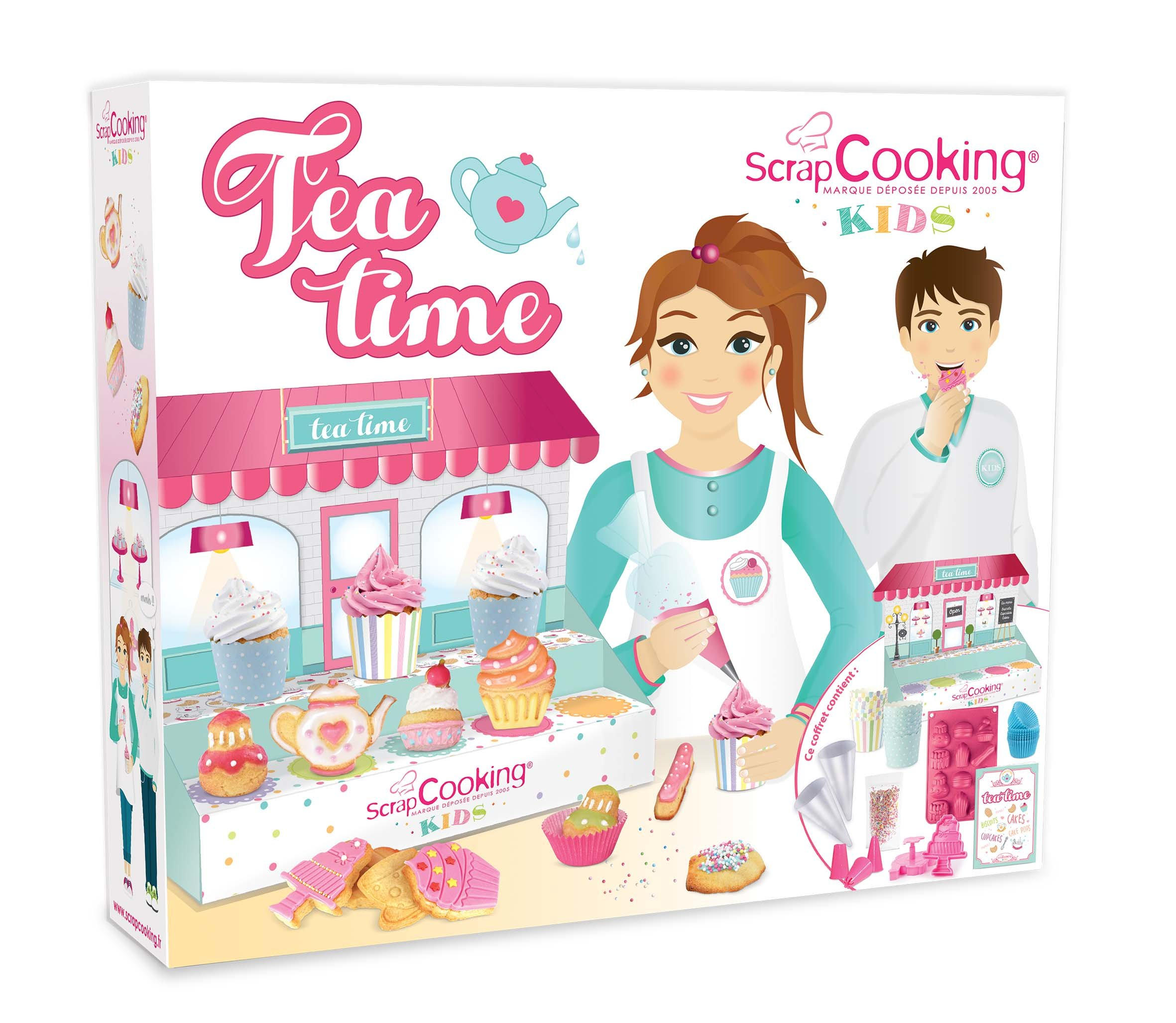 ScrapCooking 3700392438036 Tea Time Cookie Making Kit