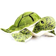 VIAHART Turquoise The Green Sea Turtle   9 Inch Tortoise Stuffed Animal Plush   by Tiger Tale Toys