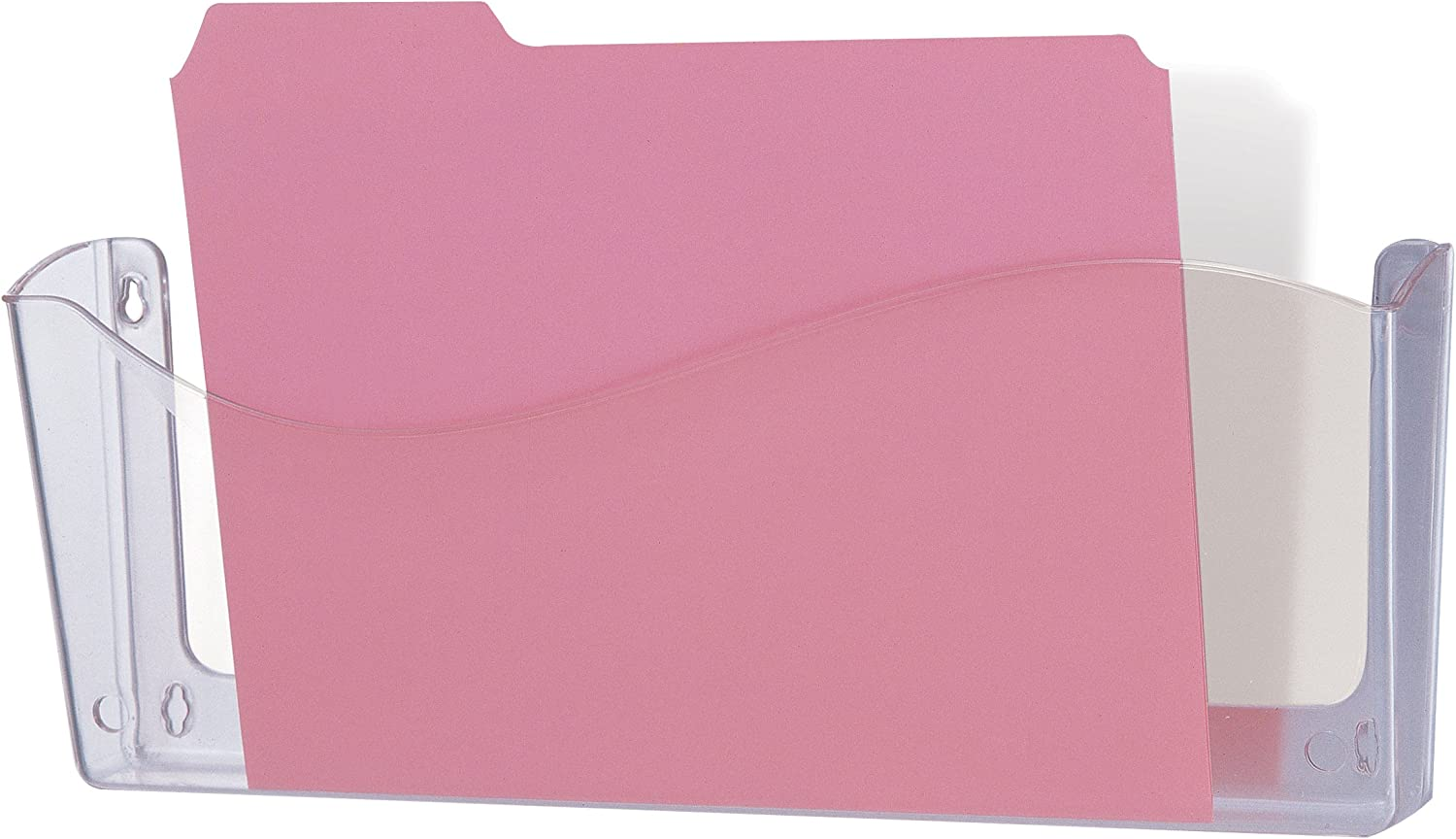Officemate Unbreakable Wall File, Legal Size, Clear (21634)