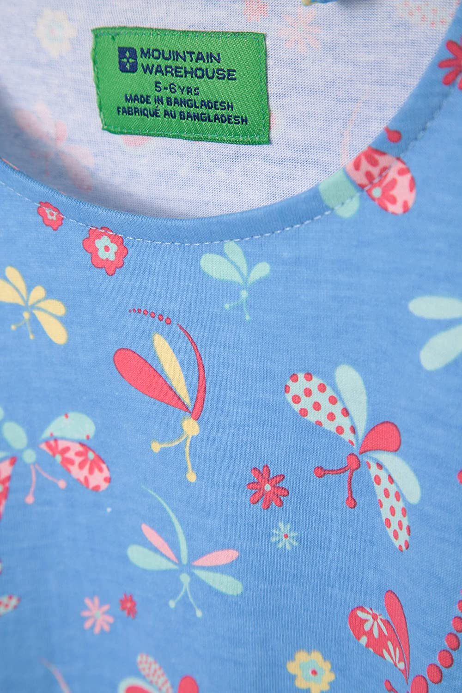 Mountain Warehouse Pippy Girls Dress 100/% Cotton Kids Spring Dress