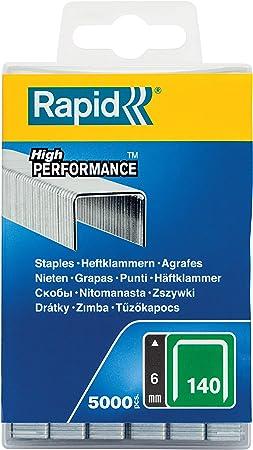 Blanc Rapid 11886902 Agrafes c/âbles 36//14mm DP Galva blanche bo/îte 1M