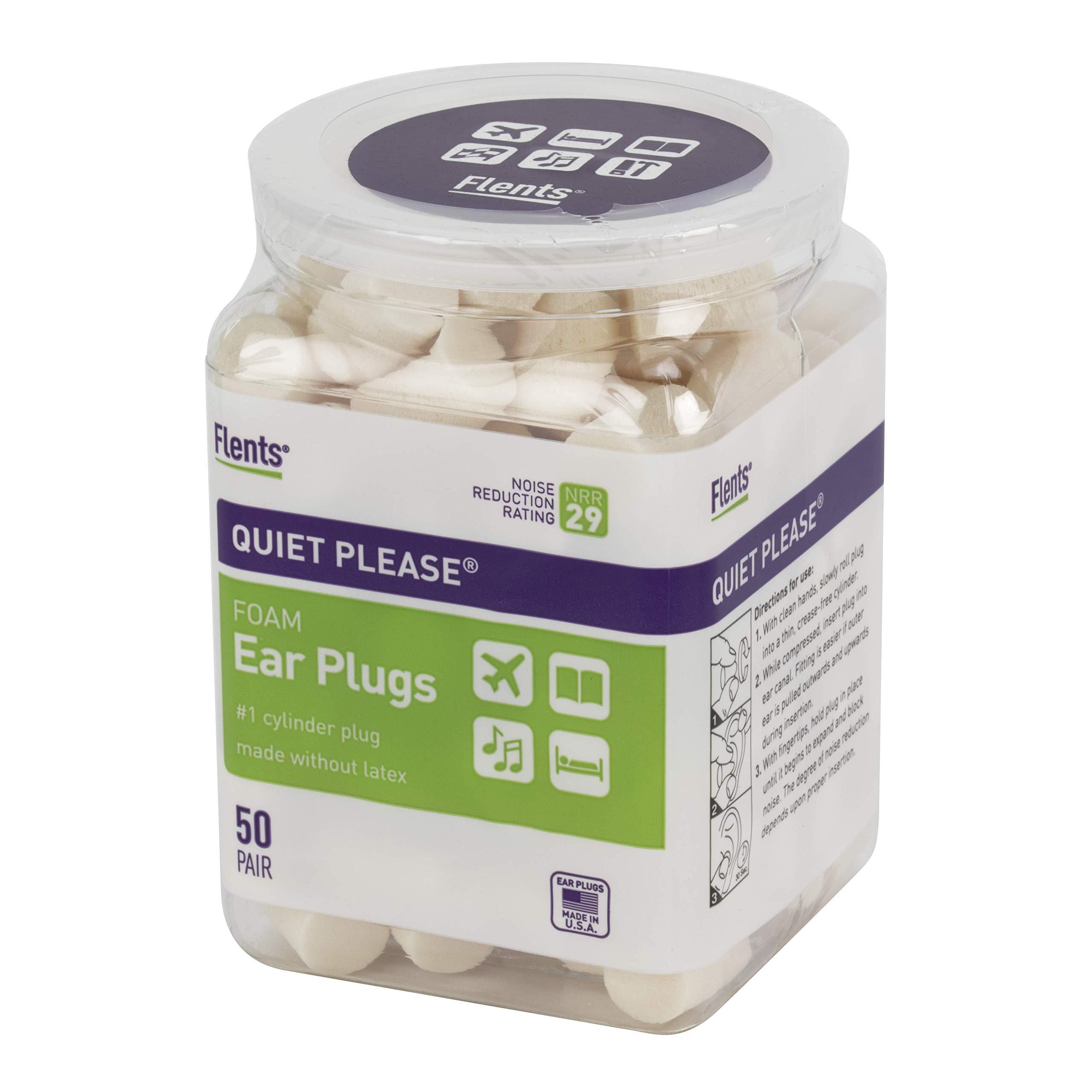 Flents Quiet Please Ear Plugs (50 Pair) NRR 29 by Flents