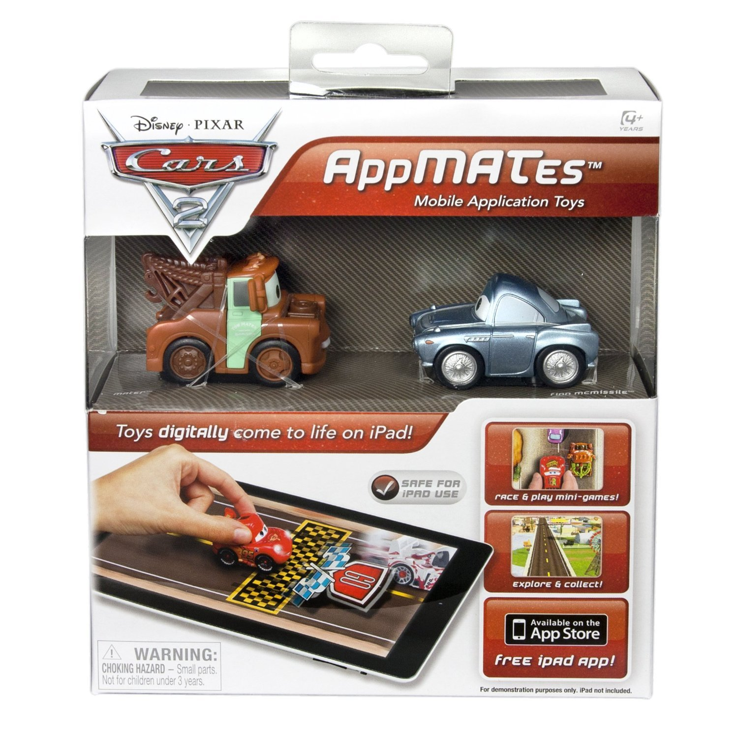 For Preschoolers: Disney Pixar Cars 2 AppMATes