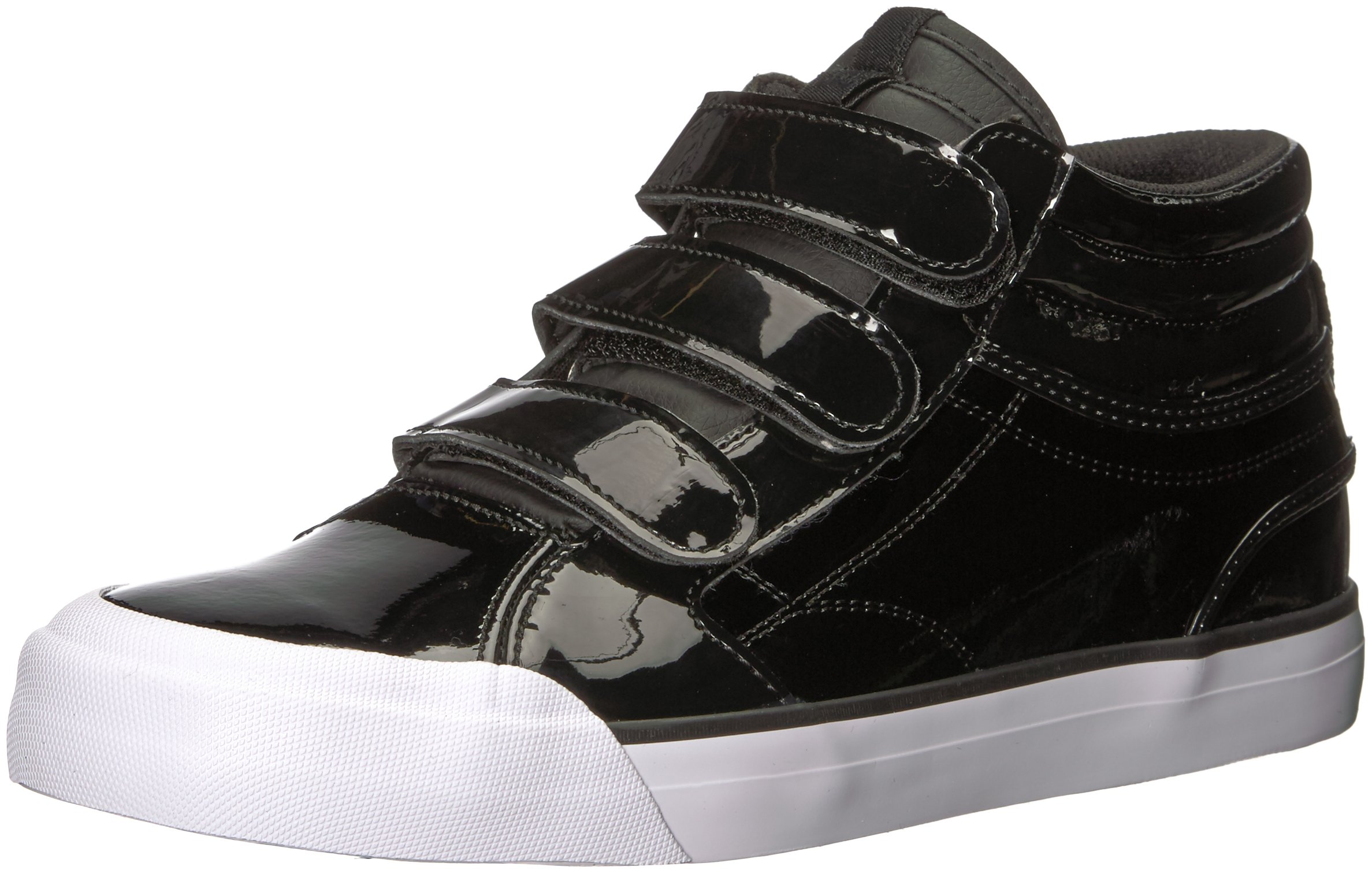 DC Women's Evan HI V SE Skate Shoe, Black, 8 B US
