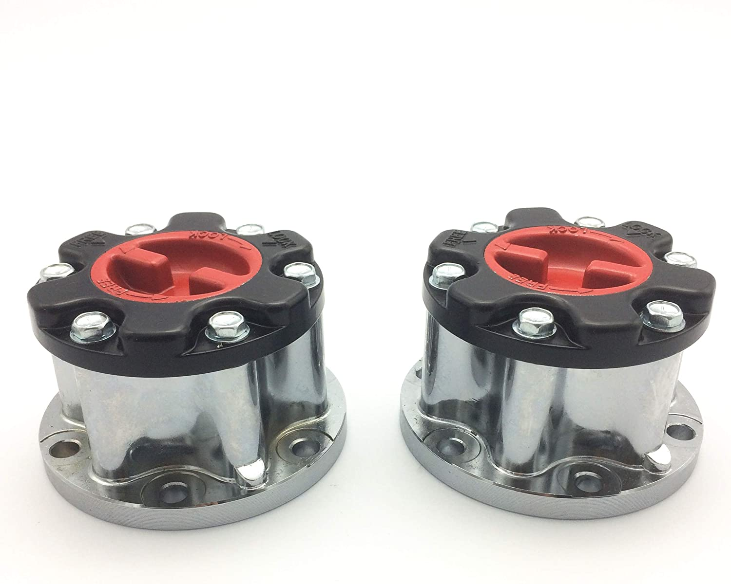 JSD X2 Pcs Manual Wheel Locking Hub fit for Toyota 4Runner 1986-1995 T100 1993-1998 43509-35030