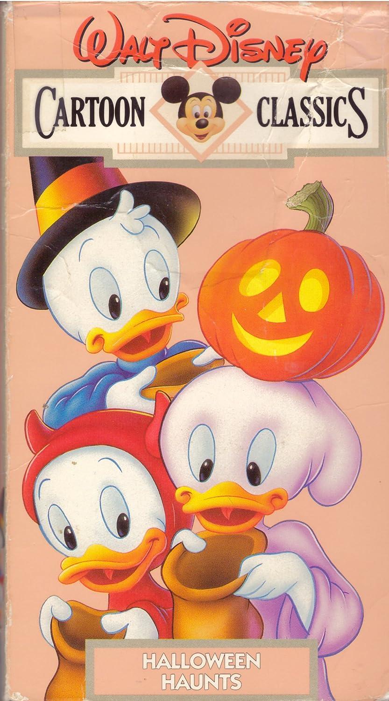 2020 Vhs Halloween Amazon.com: Walt Disney Cartoon Classics: Halloween Haunts [VHS