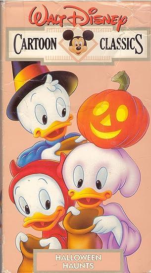 Amazon Com Walt Disney Cartoon Classics Halloween Haunts Vhs