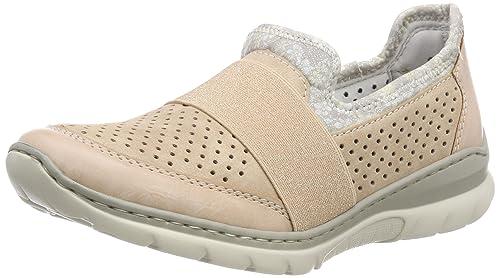 Rieker L32v2, Zapatillas sin Cordones para Mujer: Amazon.es: Zapatos y complementos
