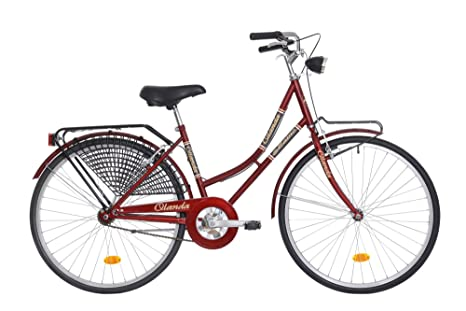 Maino Olanda 28 Bicicletta Città Donna Rubino 43