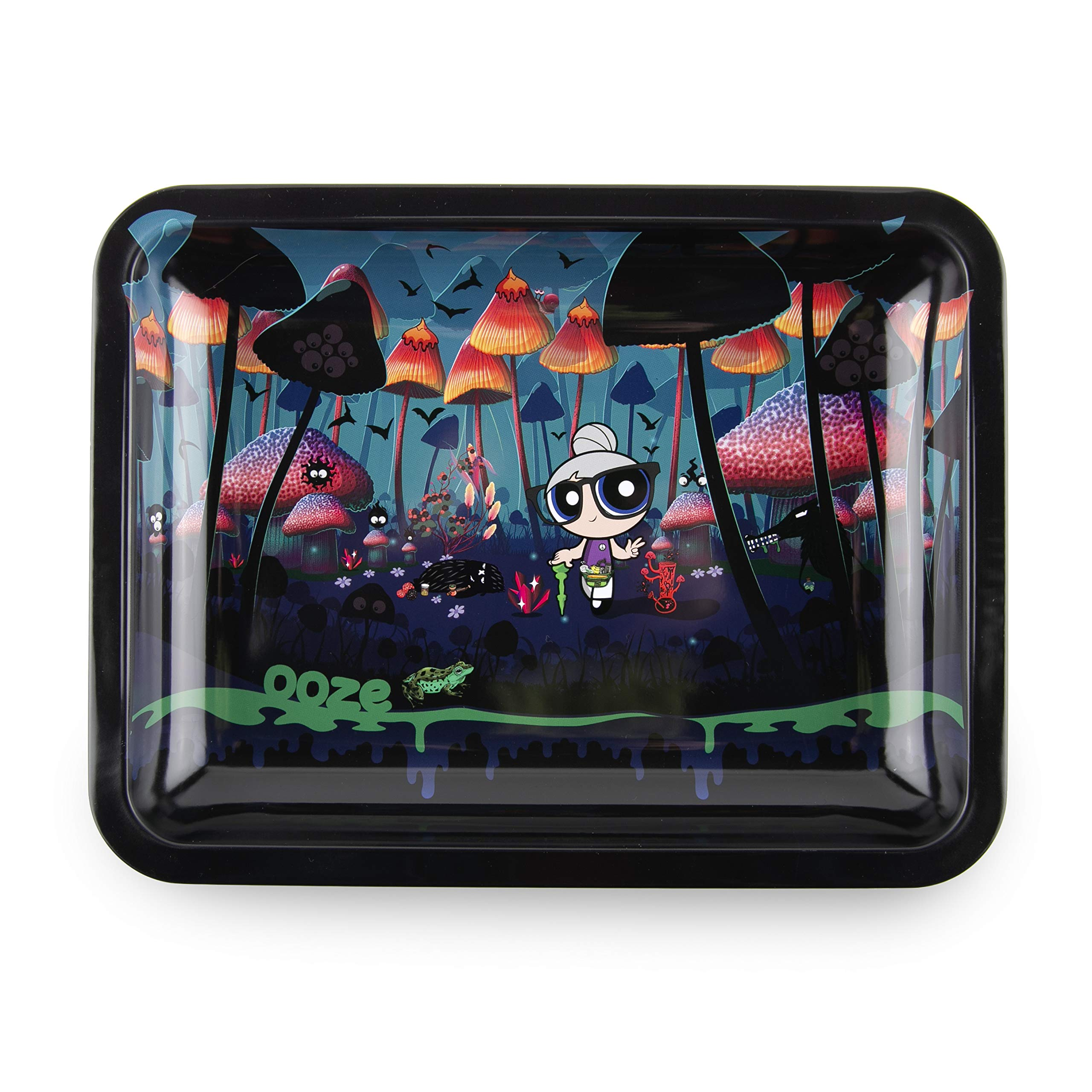 Ooze - Metal Rolling Tray - Grannyland - (10''x7.75'') by Ooze Life