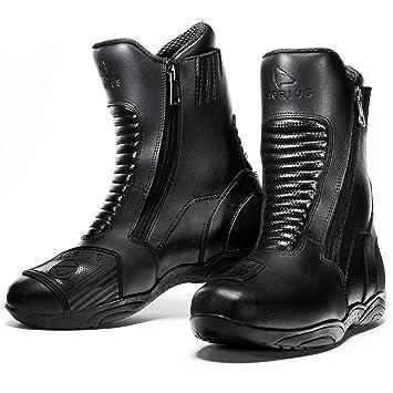 Spada Tri-Flex Motorcycle Boots 43 Black (UK 9) y60vF
