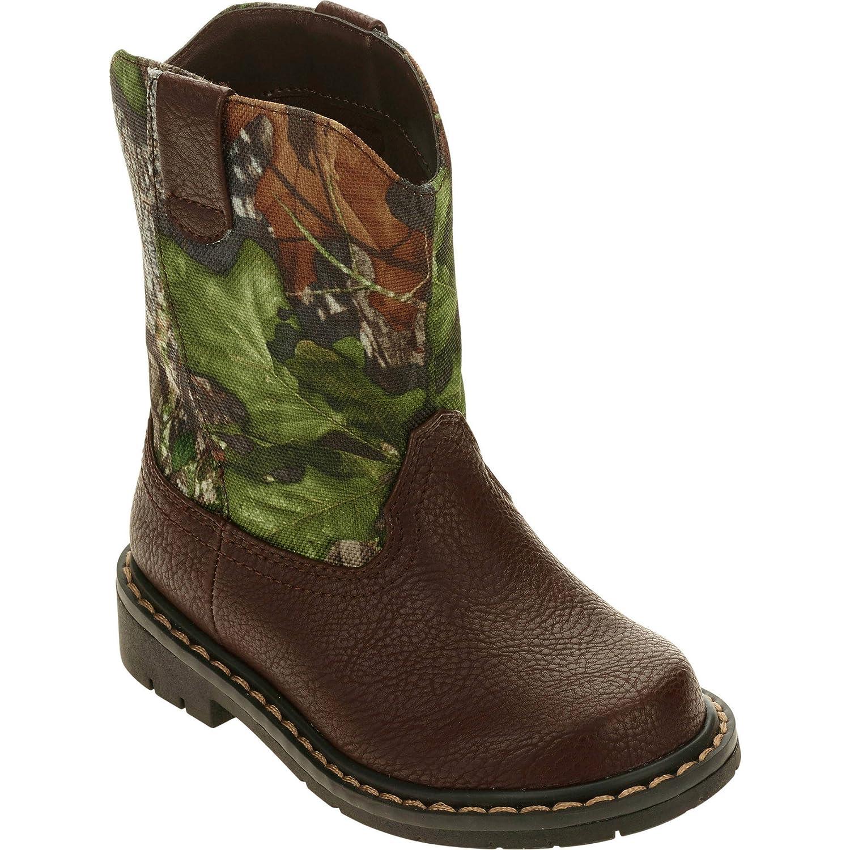 2c4651b32 Amazon.com | Faded Glory Mossy Oak Camo Toddler Boy Boots | Shoes