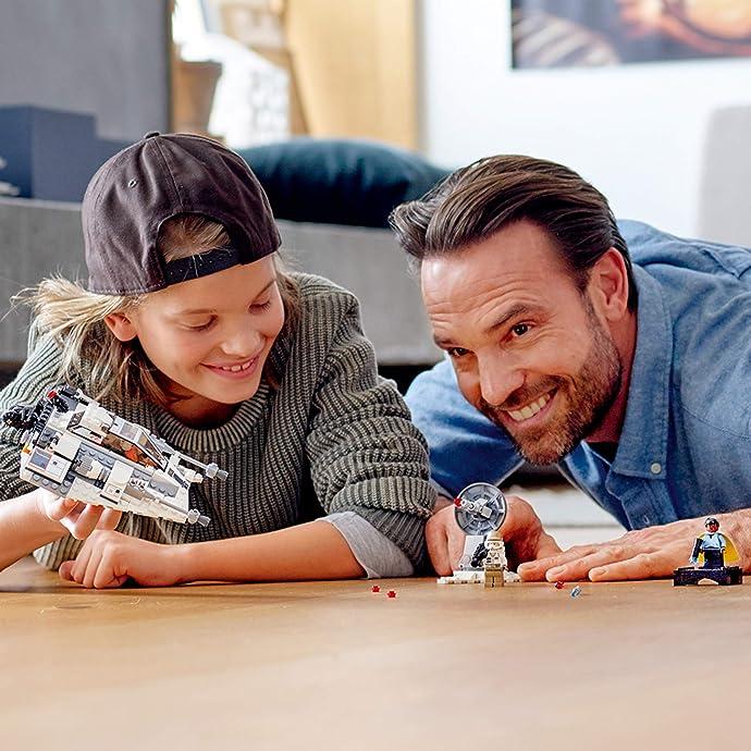LEGO 乐高 星球大战 20周年纪念套装 75259 雪地战机 积木玩具 5.5折$21.99史低 海淘转运到手约¥186