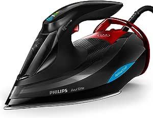 Philips Azur Elite Steam Iron 3000 Watt, GC5037/86, Black, 1 Year Brand Warranty
