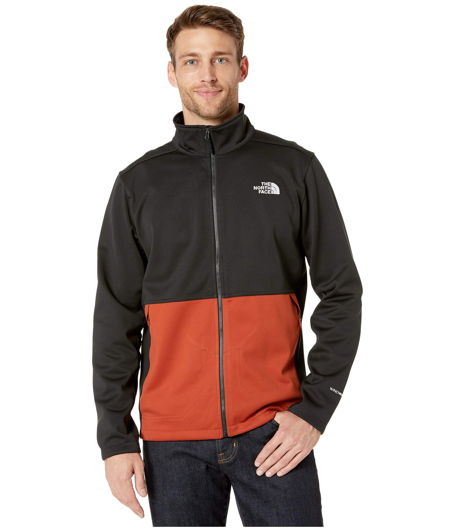 The North Face Men's Apex Canyonwall Jacket, Picante Red/TNF Black, XX-Large by The North Face