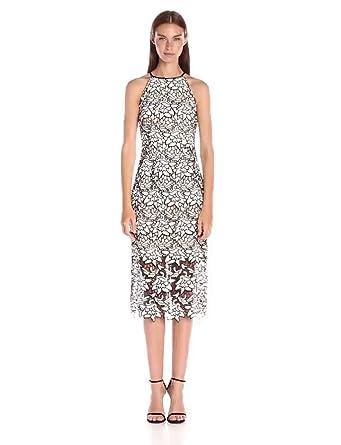 3168f6549f81 Amazon.com  Keepsake The Label Women s True Love Lace Midi Dress ...