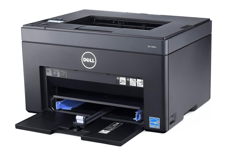 DELL C 1660 W - Impresora láser Color (384 MHz, 128 MB, 250 W), Negro