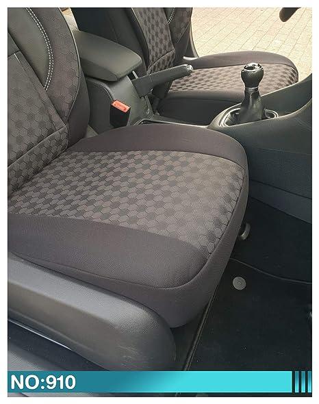 Maß Sitzbezüge Kompatibel Mit Nissan Navara 3 D40 3 Gen Fahrer Beifahrer Ab 2005 2015 Farbnummer 910 Baby