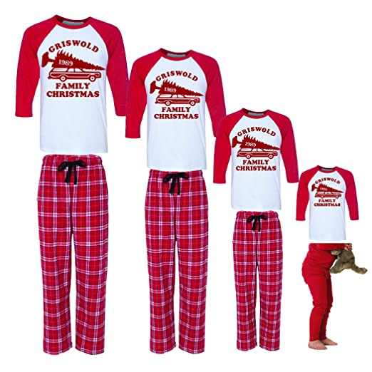 bf7ba2acae2 Amazon.com  Griswold Family Christmas Vacation Matching Family Pajamas   Clothing. Funny Christmas Shirts Matching T Shirts ...