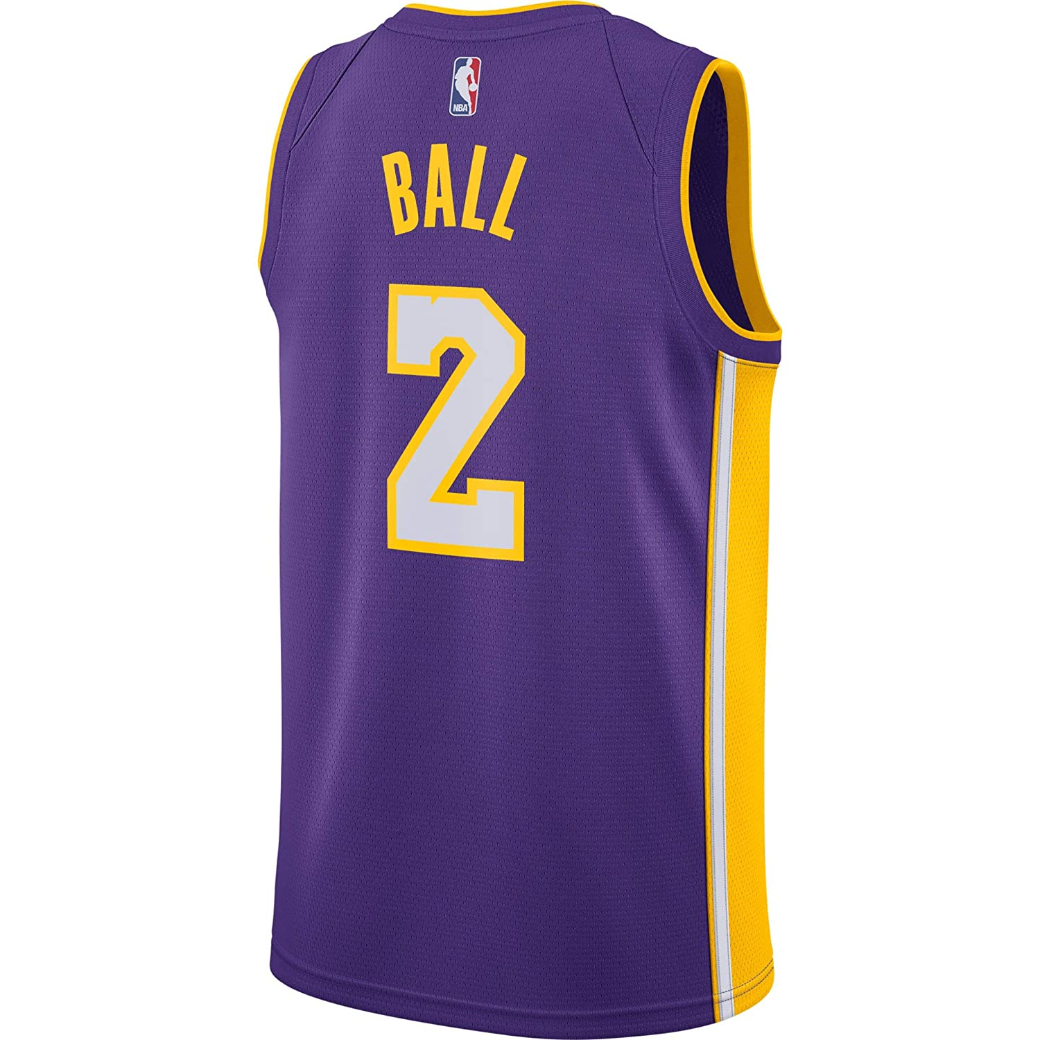 Nike NBA Los Angeles Lakers Lonzo Ball 2 2017 2018 Icon Edition Jersey Official Kobe Bryant, Camiseta de Niño: Amazon.es: Ropa y accesorios