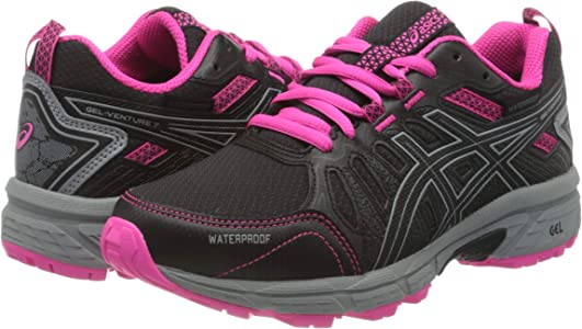 Asics Gel-Venture 7 GS WP, Trail Running Shoe Unisex-Child, Black ...