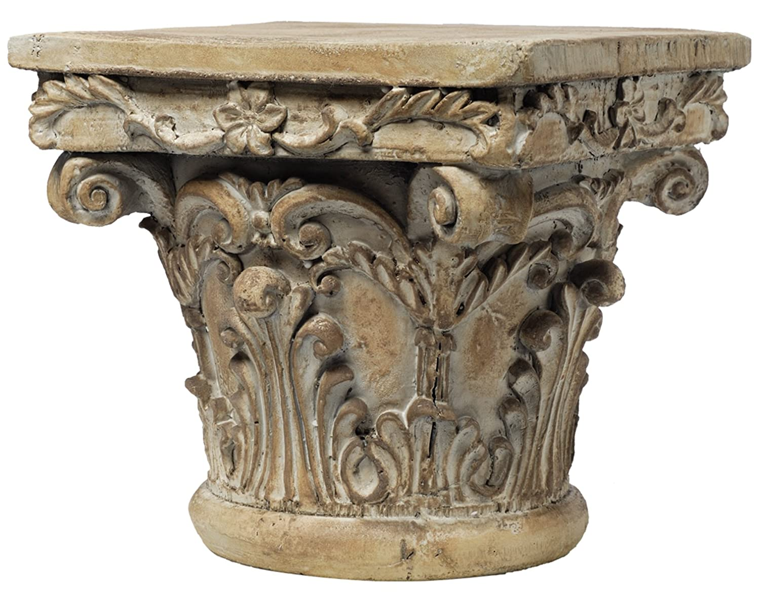 Unique Amazon.com: A&B Home 73379 Decorative Pedestal, 10 by 10 by 9-Inch  VK45