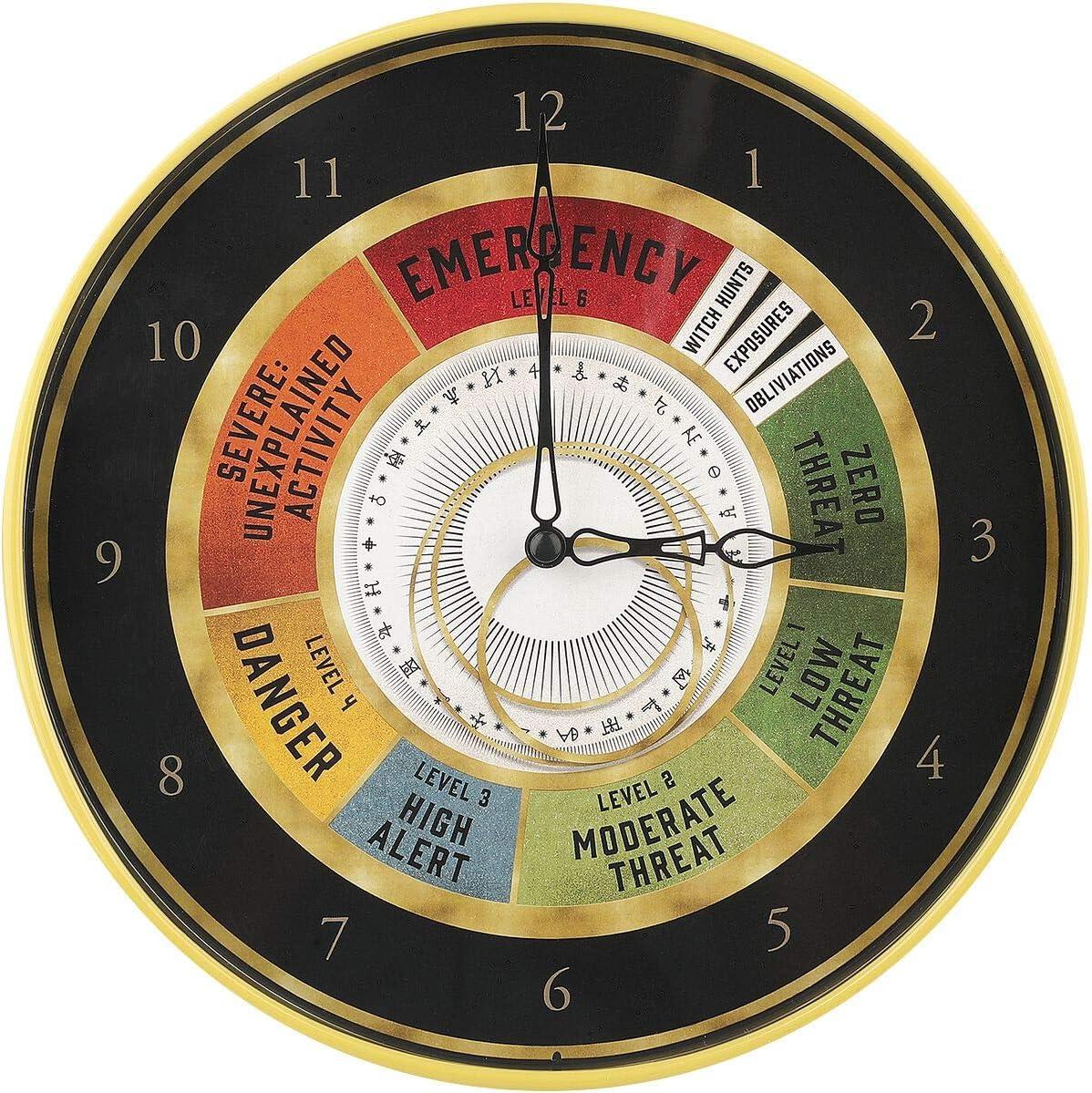 Animales Fantásticos Magical Exposure Threat Level Unisex Reloj de Pared Multicolor, Plastico,