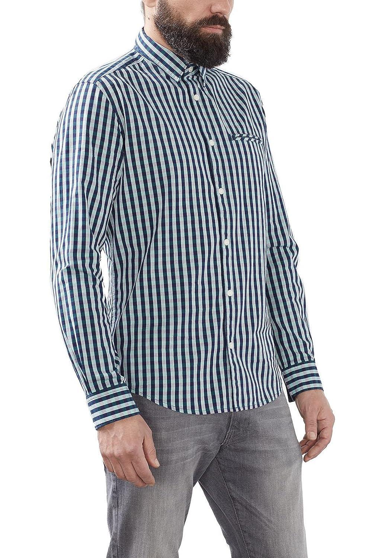 TALLA L. ESPRIT 126ee2f039-Vichy, Camisa para Hombre