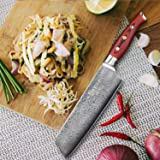 Sedge Kiritsuke Knife - Nakiri Vegetable Cleaver