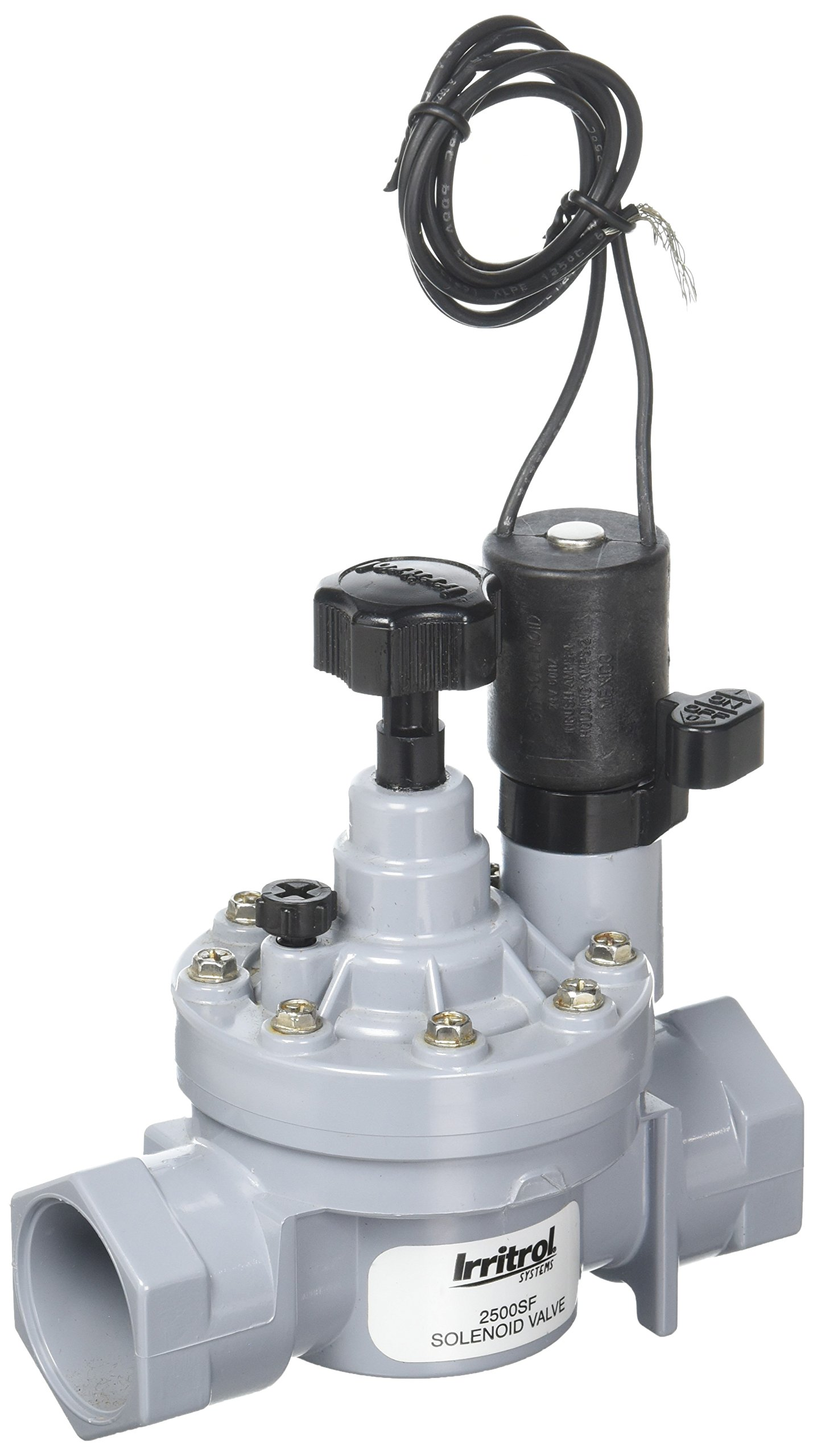 Irritrol 2500SF Glove Valve Slip Connection with Flow Control, 1''