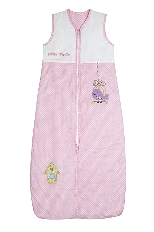 Repetición Saco de dormir para bebé niña en color rosa ...