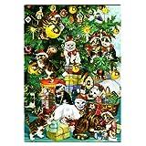 ロジャーラボード 【クリスマス】 アドベントカレンダー (ネコ×クリスマスツリー) ACC040