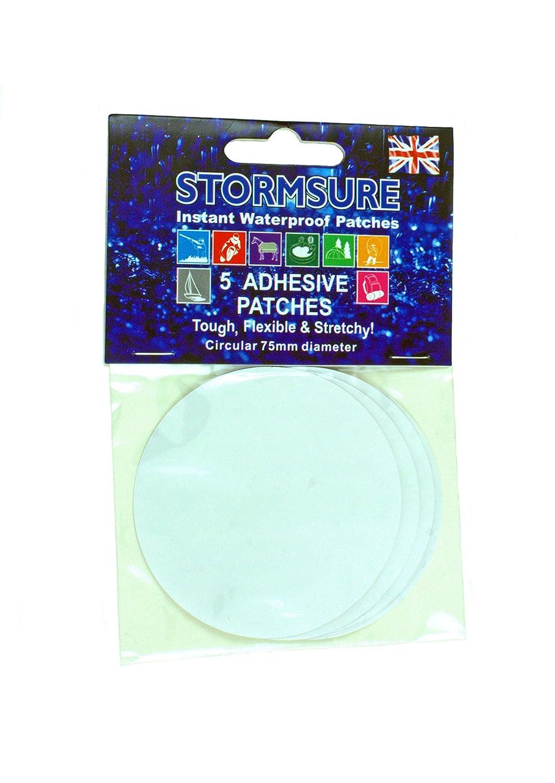 Storm Sure 5impermeable, transparente Reparación adhesivo para materiales flexible Stormsure