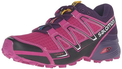 Zapatos morados Salomon Cosmic para mujer iQyQ7