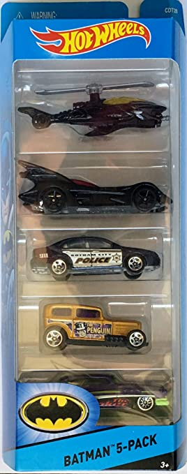 Hot Wheels City Batman 5-Pack Gift Pack Car Toys by Hot Wheels ...