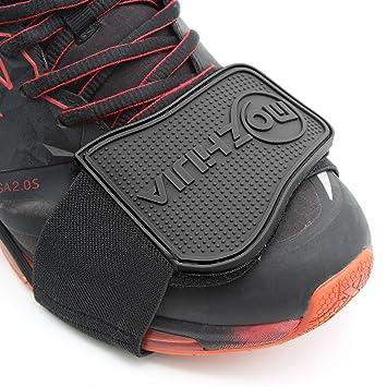 6d29df3f1c970 Xcellent Global Protector de zapato de Moto Cubre Botas Ayuda para el  Cambio Negro AT022  Amazon.es  Electrónica