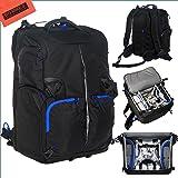 Backpack for DJI Quadcopter Drones, Phantom 4, Phantom 3 Pro, Phantom 3 Advanced, Phantom 1, Phantom 2 Vision, Phantom 2 Vision+, Phantom 2 + Gimbal, Phantom FC40, Fits Extra Accessories GoPro Cameras