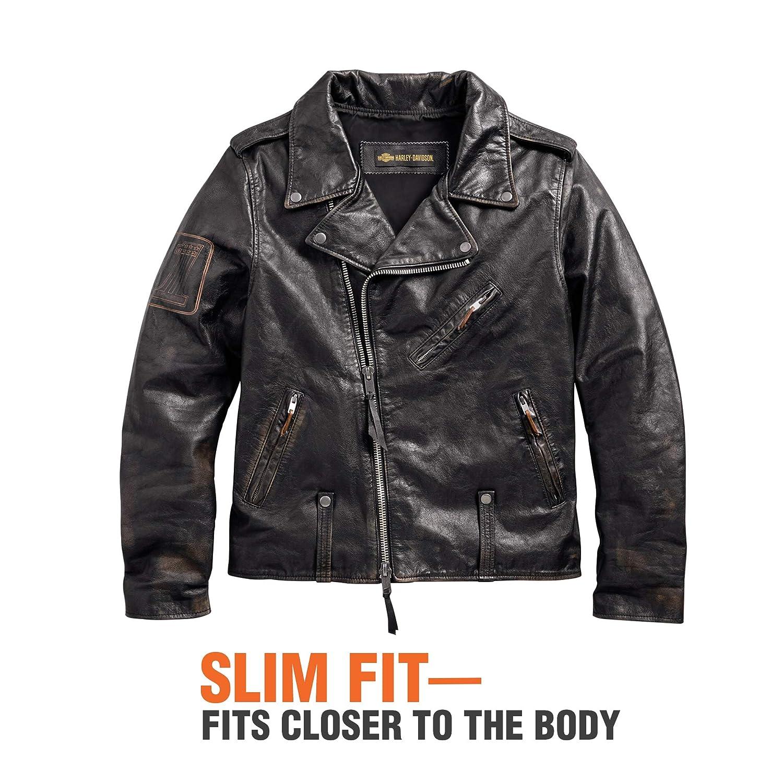 590276eb87 Harley-Davidson Official Men s Master Distressed Slim Fit Leather Biker  Jacket