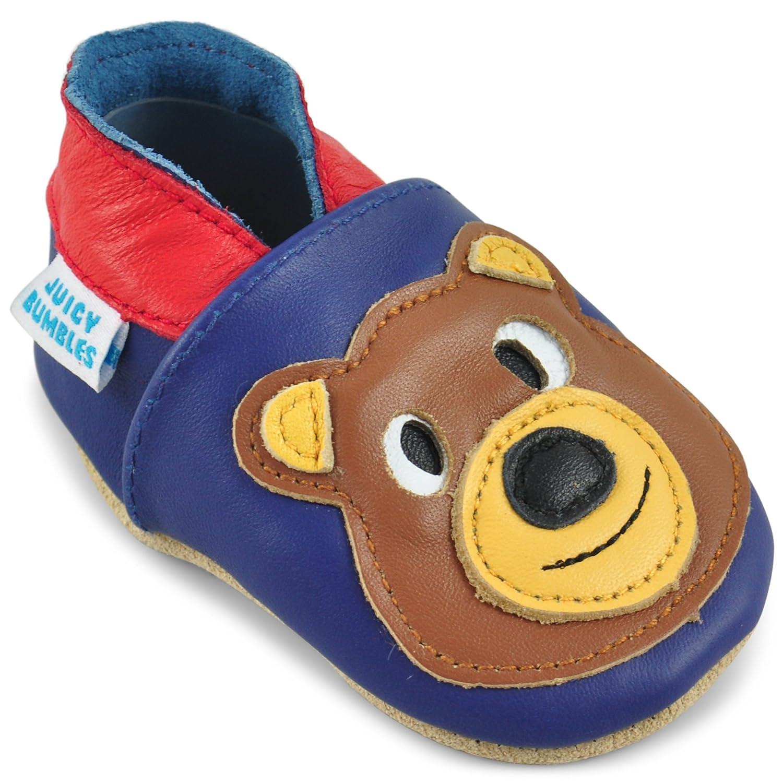 6ed16195d9e Pantuflas Infantiles 0-6 Meses 6-12 Meses 12-18 Meses 18-24 Meses Patucos  de Piel con Elástico para Bebé Zapatitos Primeros Pasos Zapatos Bebe Niña  ...