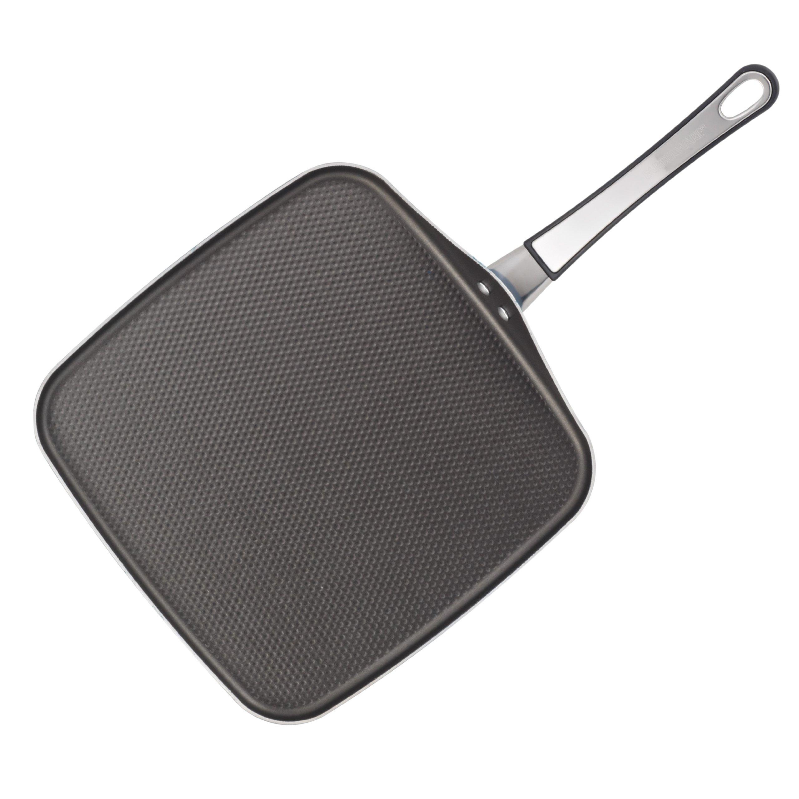 Farberware High Performance Nonstick Aluminum 11-Inch Square Griddle, Black by Farberware (Image #3)