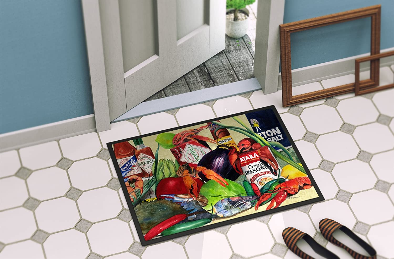 Carolines Treasures 8538-MAT Crab Indoor or Outdoor Doormat 18 x 27 Multicolor