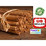 (8 OZ) GROWN ORGANICALLY PURE CEYLON ALBA CINNAMON STICKS SRI LANKA FINEST QUALITY, HAND SELECTED