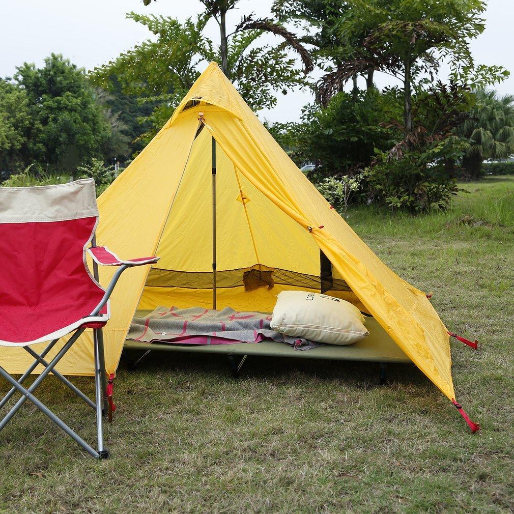 haute capacit/é 200/kg l/éger pliant pour camping Outad Lit de camp